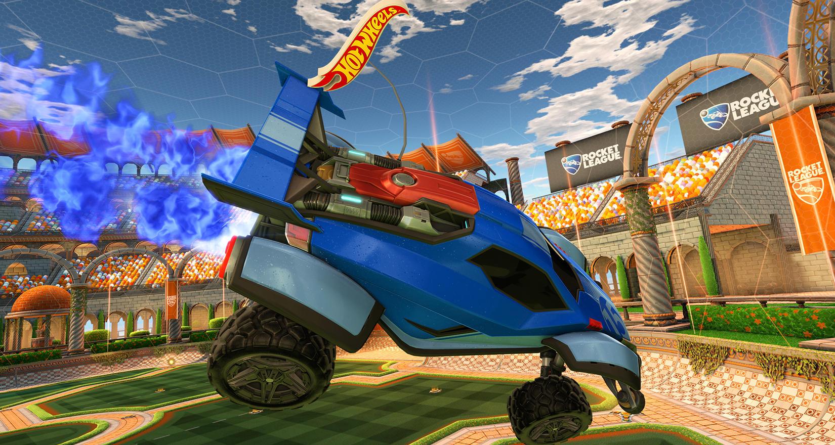 Gute Kombi: Hot Wheels entwickelt Rocket League RC-Autos