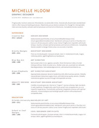 25 great resume templates for all aol finance