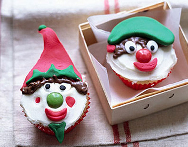 christmas elf cupcakes recipe