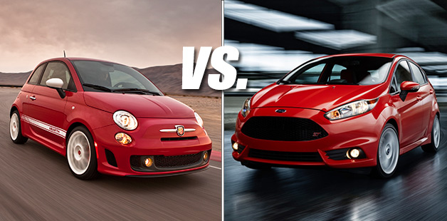 This or That: Fiat 500 Abarth vs. Ford Fiesta ST