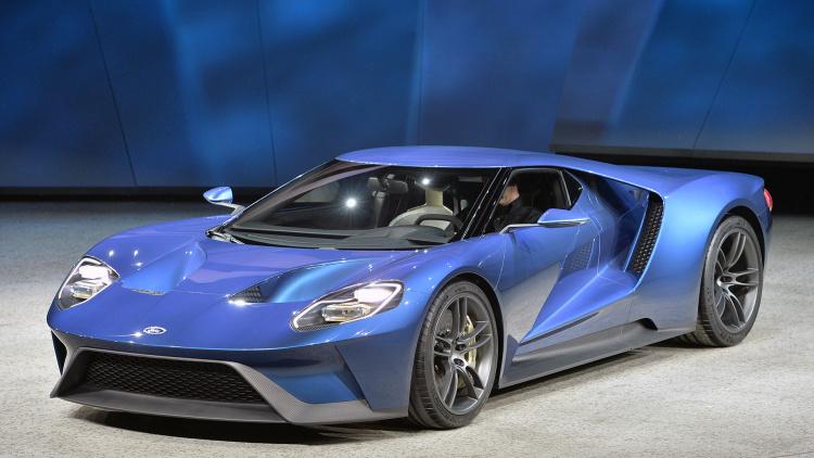 Debüt in Detroit: Ford GT concept