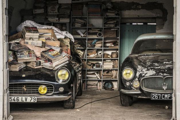 【ビデオ】総額20億円以上!? 仏の納屋で見つかったクラシックカー・コレクションが競売に!