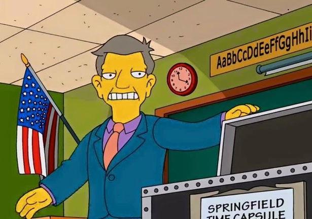funny simpsons screenshots, hilarious simpsons freeze frames, principal skinner