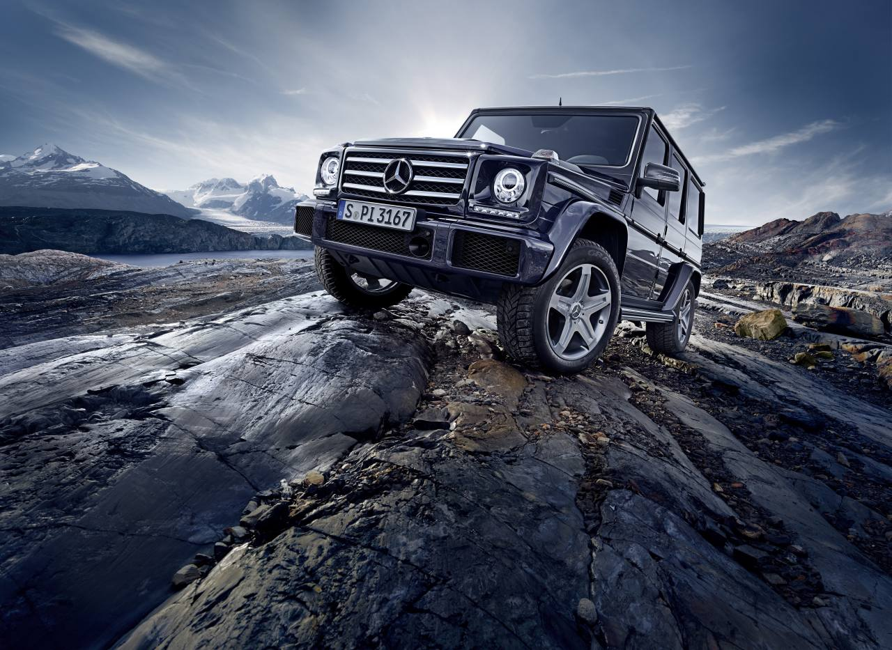 Mercedes-Benz G-Klasse Modellpflege