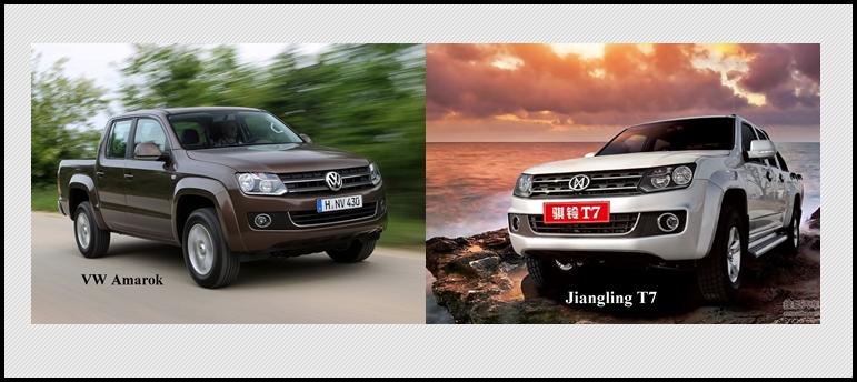 China Clone des VW Amarok: Jiangling T7
