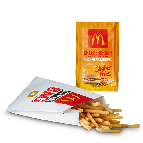 McDonald's Release Chicken Big Mac And Cheeseburger Shaker Fries Today