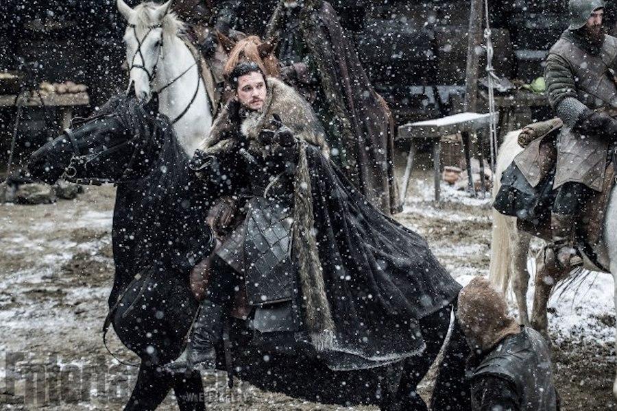 Game of Thrones<br /> TK<br /> Season 7, Episode TK<br /> Kit Harrington as Jon Snow