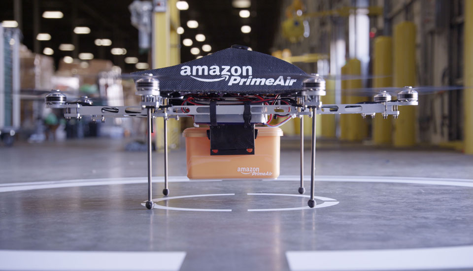 Amazon Prime Air drone prototype