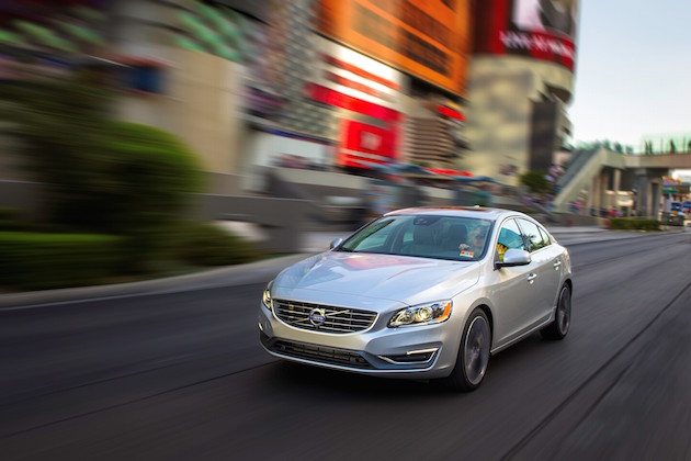 Volvo S60, exterior, front, side, driving