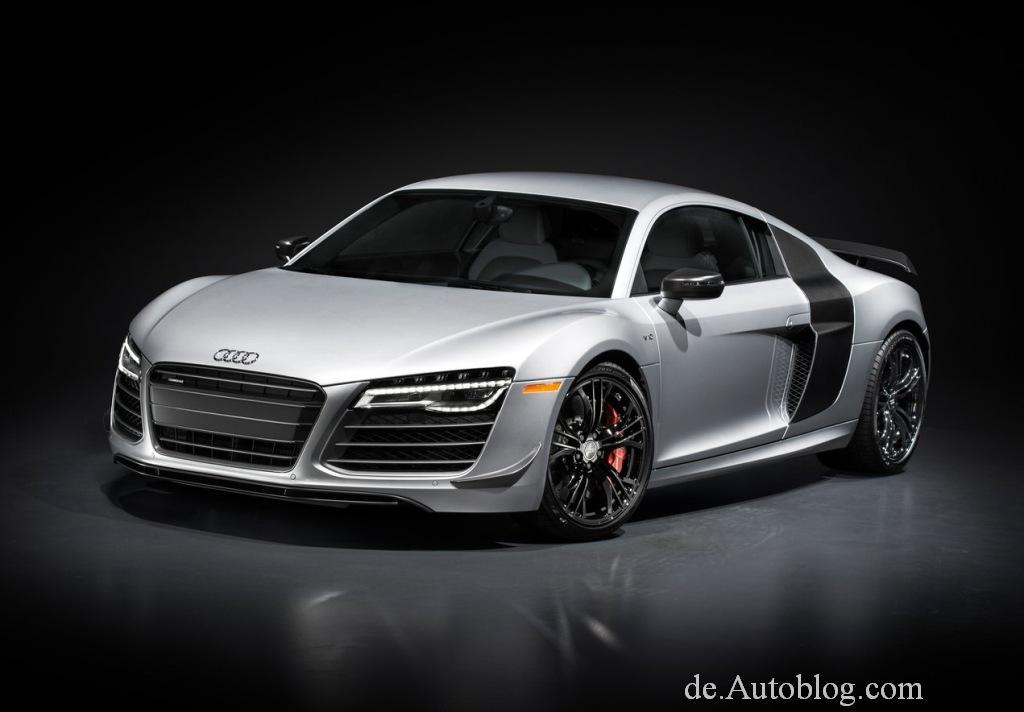 Premiere für Audi R8 Competition 2015