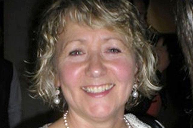 Satbbed teacher Ann Maguire