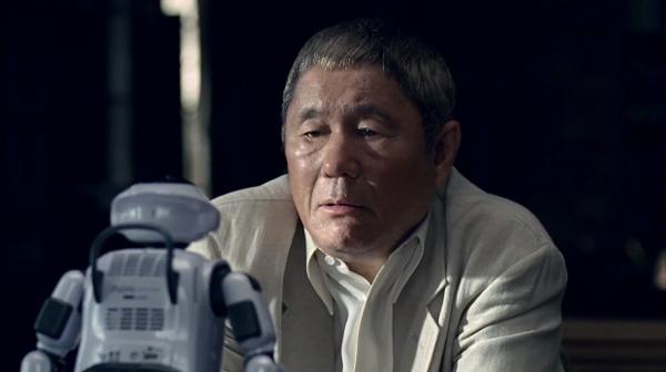 北野武がコマネチするロボットと出会った!ファッキンジャップぐらい分かるよバカ野郎!
