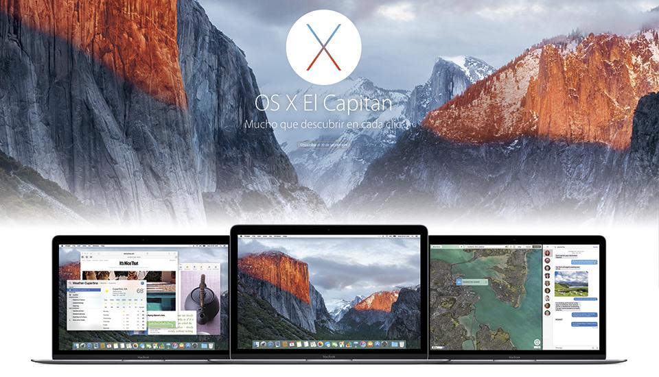 Ya puedes descargar OS X El Capitan: Estas son sus novedades