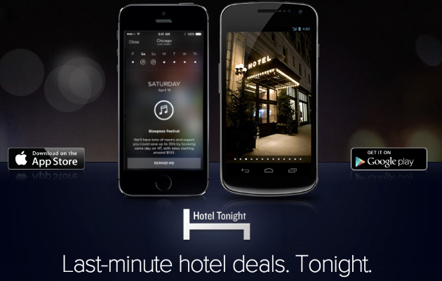 HotelTonight app now lets you preview room availability seven days ahead