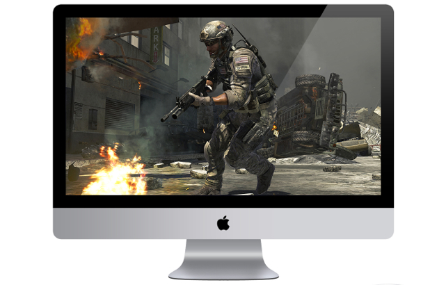 call of duty on mac