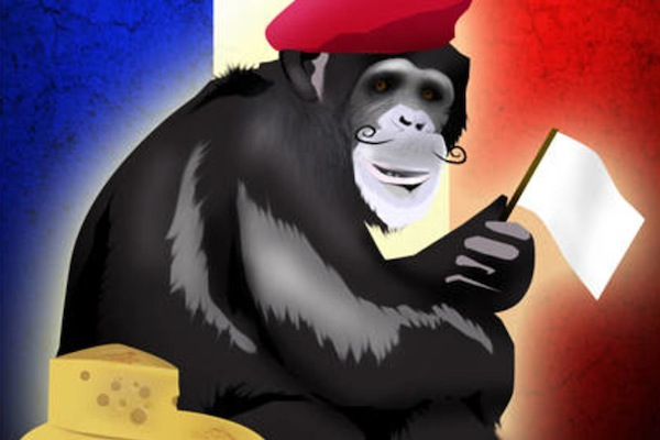 most hilarious moments from history, funny history, french monkey hanging