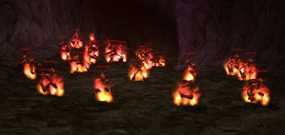 Imps in the imp cave