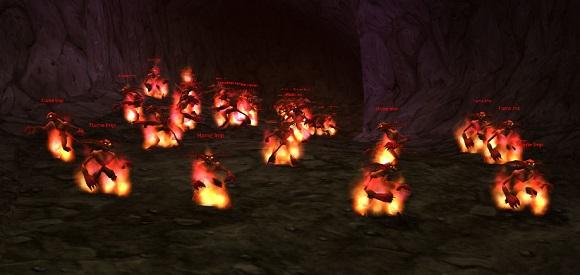 Imps in the imp cave