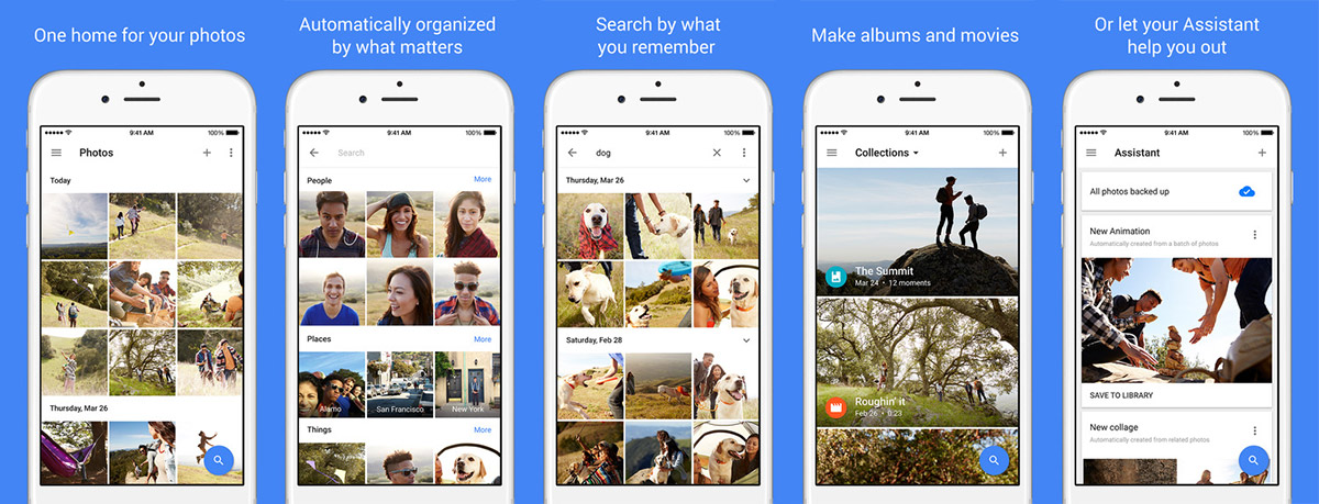 Google updates Photos for iOS, but no Chromecast support just yet