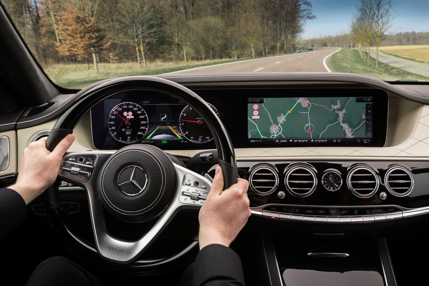 photo image Mercedes Benz is building cars that know the road better than you