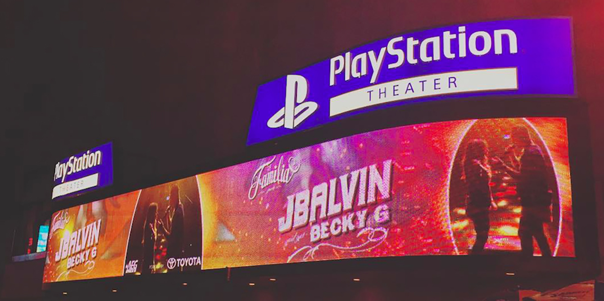 Introducing Nokia...wait, Best Buy...no, PlayStation Theatre