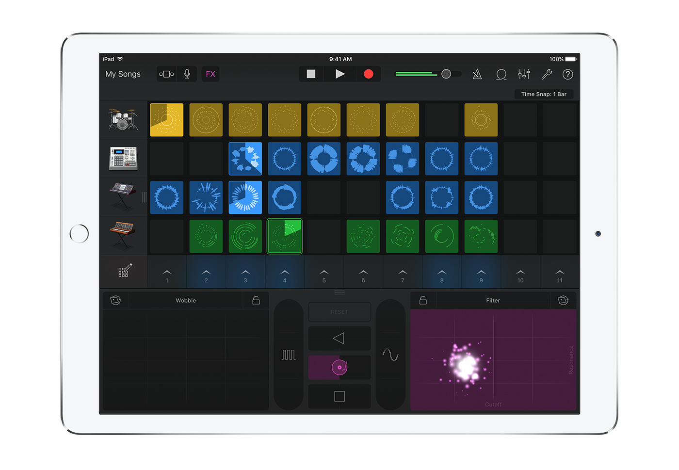GarageBand goes to China with new instruments and Live Loops
