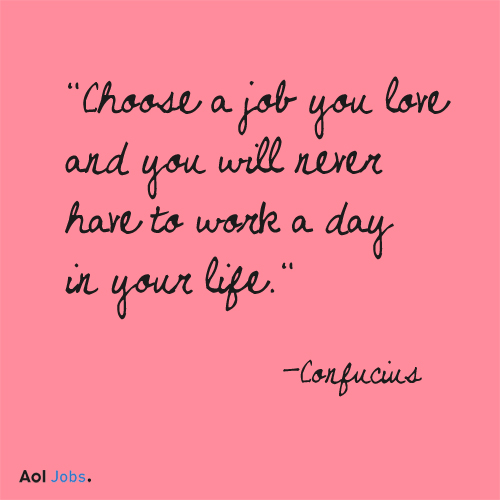 motivational quotes AOL Jobs Week