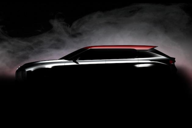 三菱、パリ・モーターショーで披露する「グランド・ツアラー・コンセプト」のティーザー画像を公開