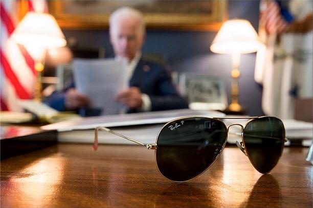 Joe Biden's 1st Instagram looks like a Ray-Ban ad