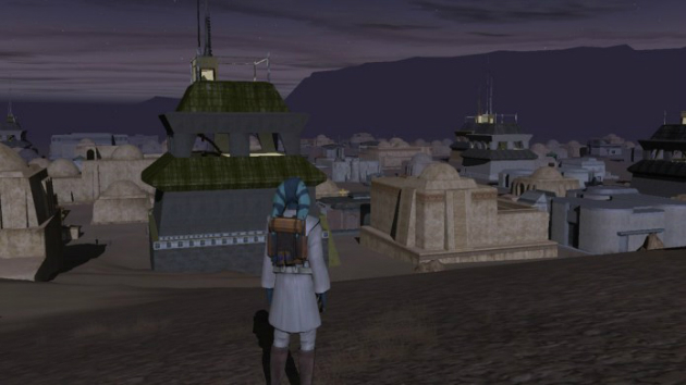The amazing 'Star Wars Galaxies' Jedi mode that never was