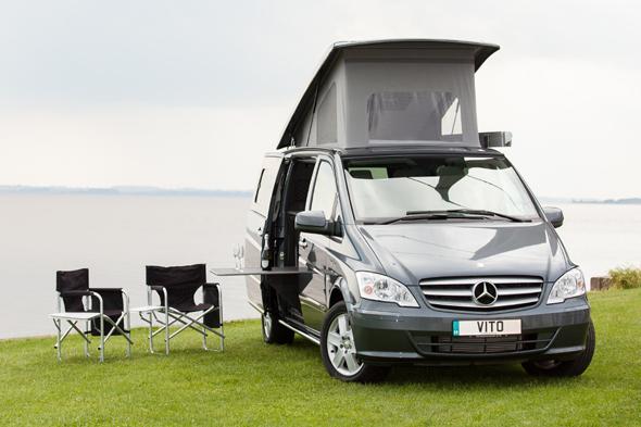 Win a mercedes benz campervan for easter bank holiday for Mercedes benz camper van rental