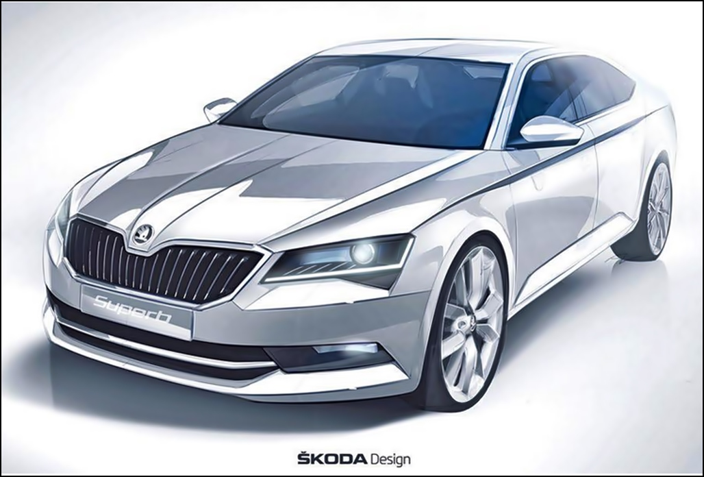 Der neue Skoda Superb 2015