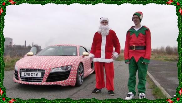 Frohes Fest: 14 witzige Auto-Weihnachts-Videos