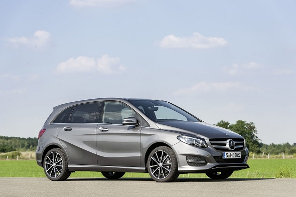 B 220 CDI 4MATIC (W246) 2014, mountaingrau magno, Urban Line B 220 CDI 4MATIC (W246) 2014, mountain grey, Urban line