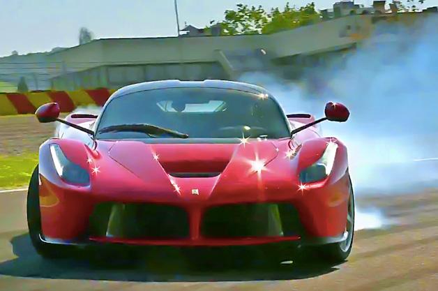 【ビデオ】「ラ フェラーリ」を『トップギア』と英の人気自動車誌がチェック!