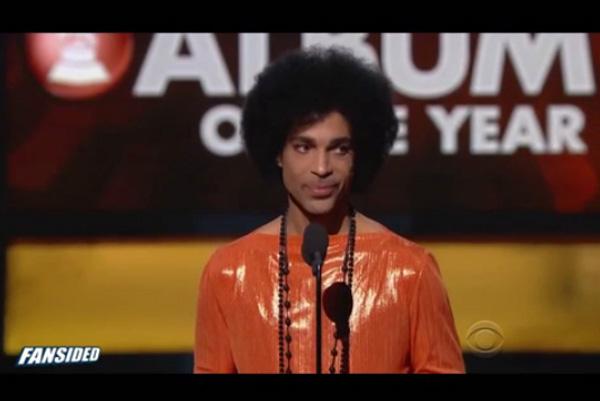 グラミー賞でのプリンスのスピーチが深すぎると話題 「アルバムって覚えてる?」【動画】