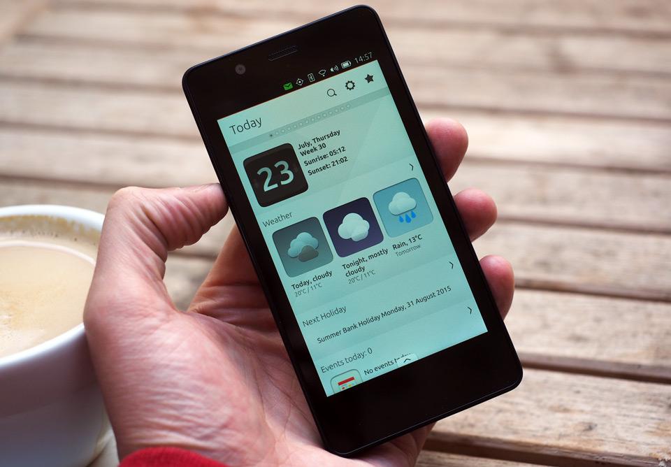 Ubuntu opinión Teléfono: años en la fabricación, pero aún no preparados para el consumo