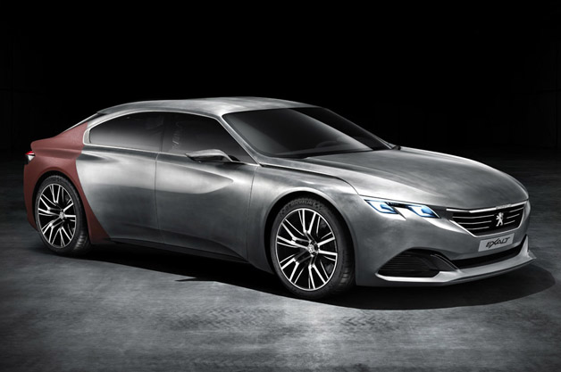 Peugeot reveals Beijing-bound Exalt concept in full
