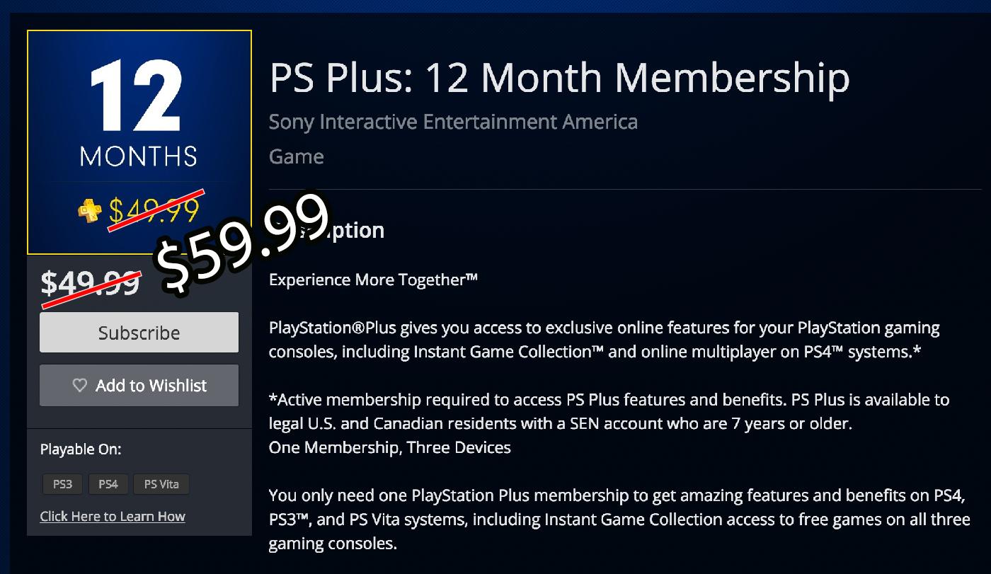 psplus precio nuevo El precio de PlayStation Plus subirá en septiembre
