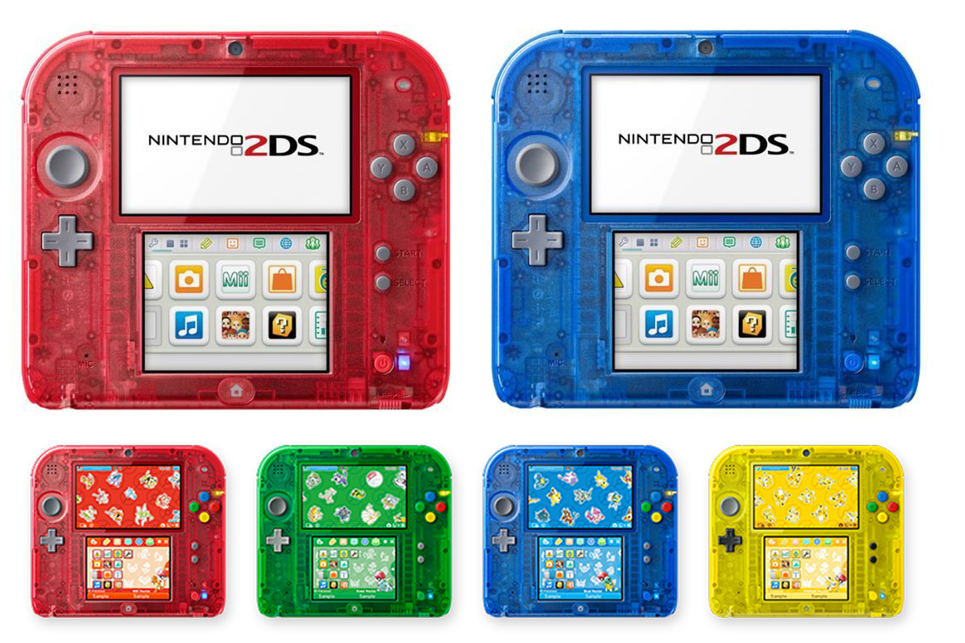 Japan gets Nintendo's 2DS in limited-edition 'Pokemon' colors
