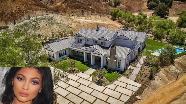 celebrity mansion that will disgust you, kylie jenner mansion