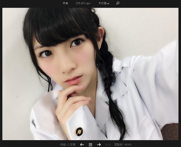 AKB48岡田奈々「受験がんばれ」のエールに大慌て?トークアプリ755の指摘に「そのとおり」