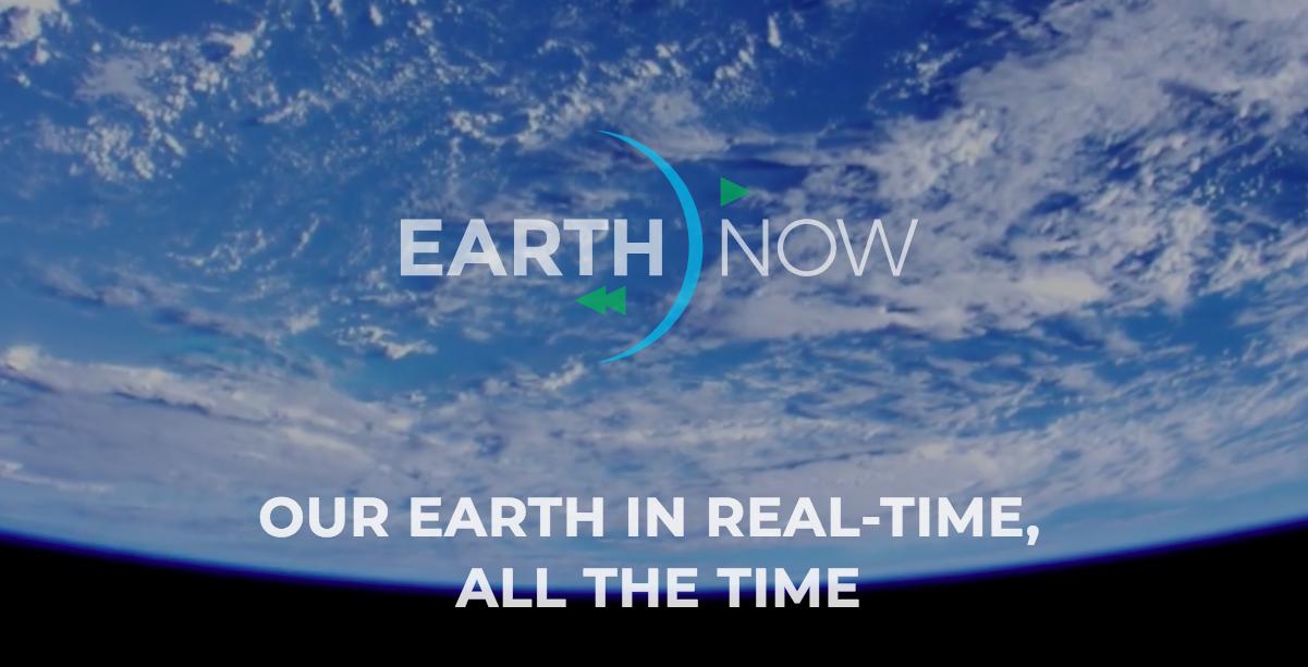 EarthNow: Livestream der Erde aus dem All kommt