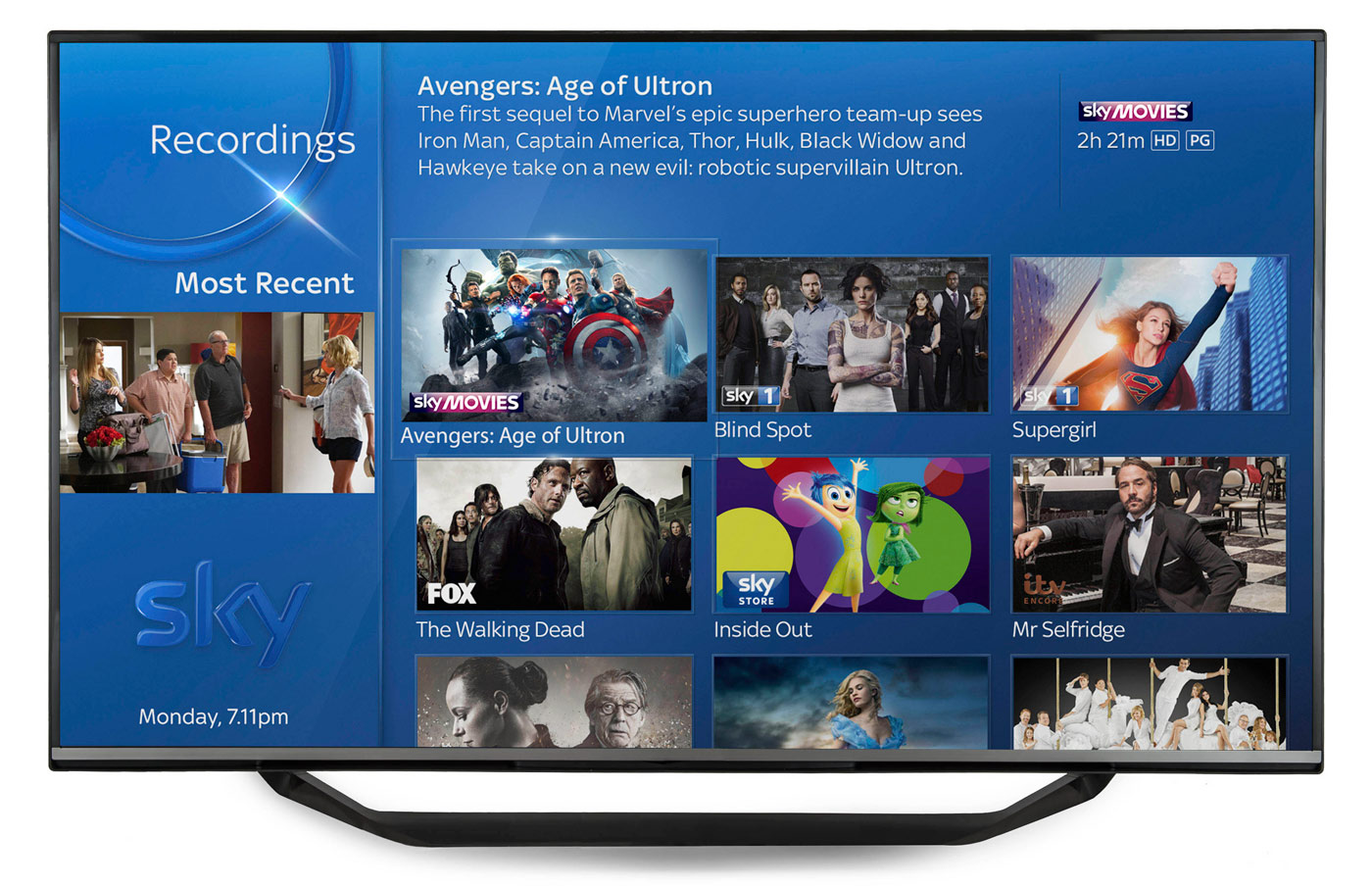 Sky Q Interface