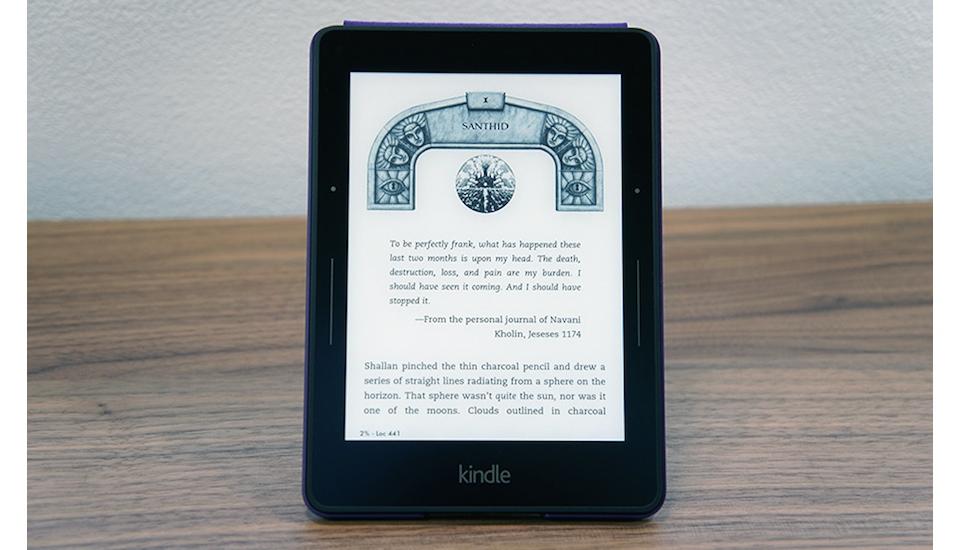 Kindle Voyage, el e-reader 'premium' para gente con pasión por la lectura