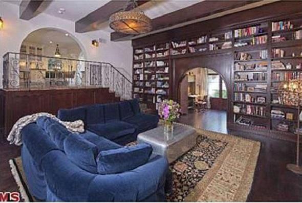jack osbourne home library