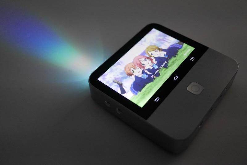 Zte『モバイルシアター』レビュー。どこでも投影で遊べる多機能androidプロジェクター Engadget 日本版