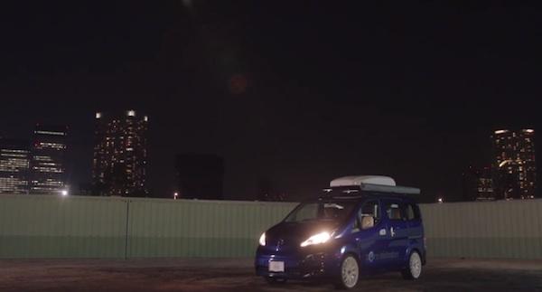 日産が開発したリア充な電気自動車「スマートバーベキューカー」が本気すぎる