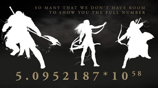 Big ESO numbers
