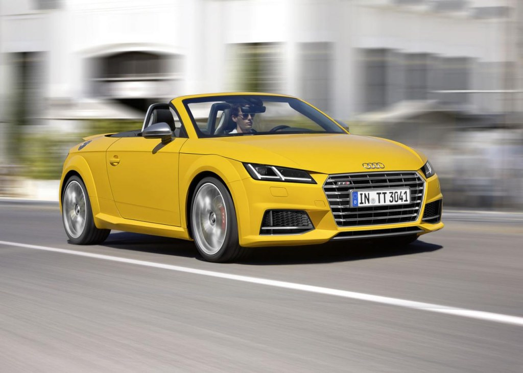 Audi TT Roadster, Audi TTS Roadster, Audi TT, Audi TTS, Auto Salon Paris, Pariser Auto Salon, TT Rodster, TTS Roadster 2015, Der neue Audi TT Roadster